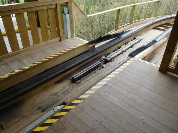 Wooden Coasters: braking systems part2