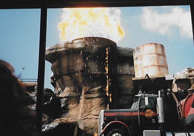 Catastrophe Canyon 1989 Large Fireball
