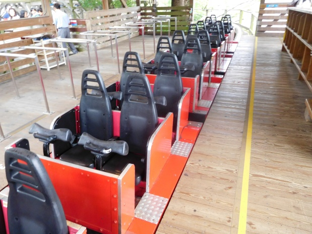 Part two of the wooden coaster train history