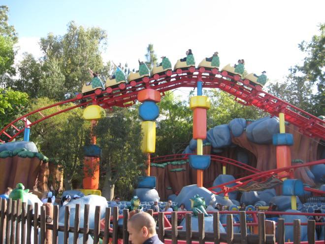 Gadget Go Coaster Disneyland