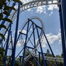 The loop and Zero-G-Roll.