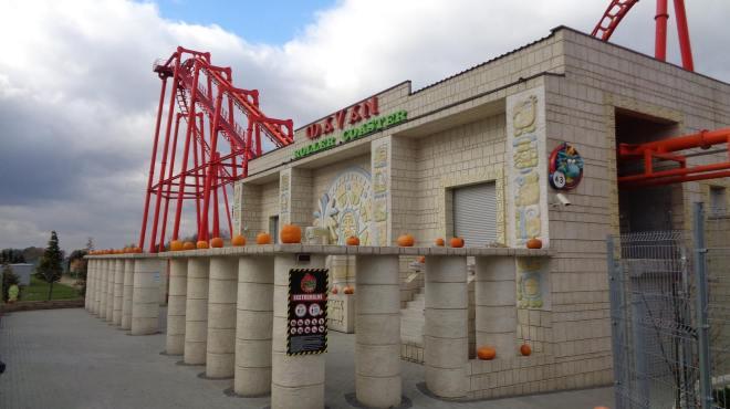 Mayan Roller Coaster Flex 2