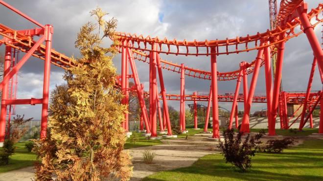 Mayan Roller Coaster Flex 7