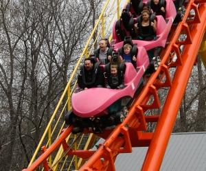 Negative-G Vivits Worlds Of Fun Opening Weekend 2013