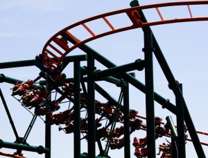 Negative-G Visits Frontier City Theme Park in Oklahoma City, Oklahoma