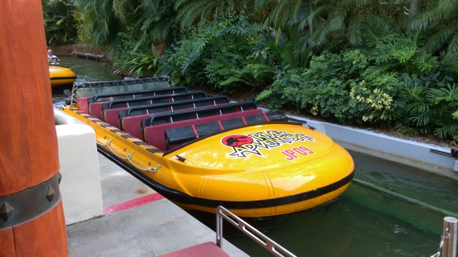 Jurassic Park River Adventure Islands of Adventure lap bars (1)