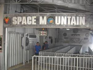 Space Mountain Thailand Entrance
