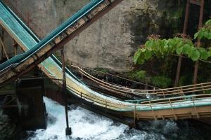 Fuji Q Spillway Drop