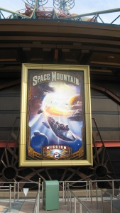Poster Space Mountain Mission 2