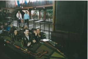 Train Space Mountain DLP 2001 2