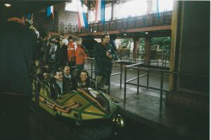 Train Space Mountain DLP 2001
