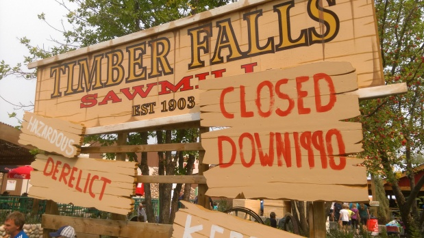 Loggers and Thunder: Part 7 of the Log Flume History