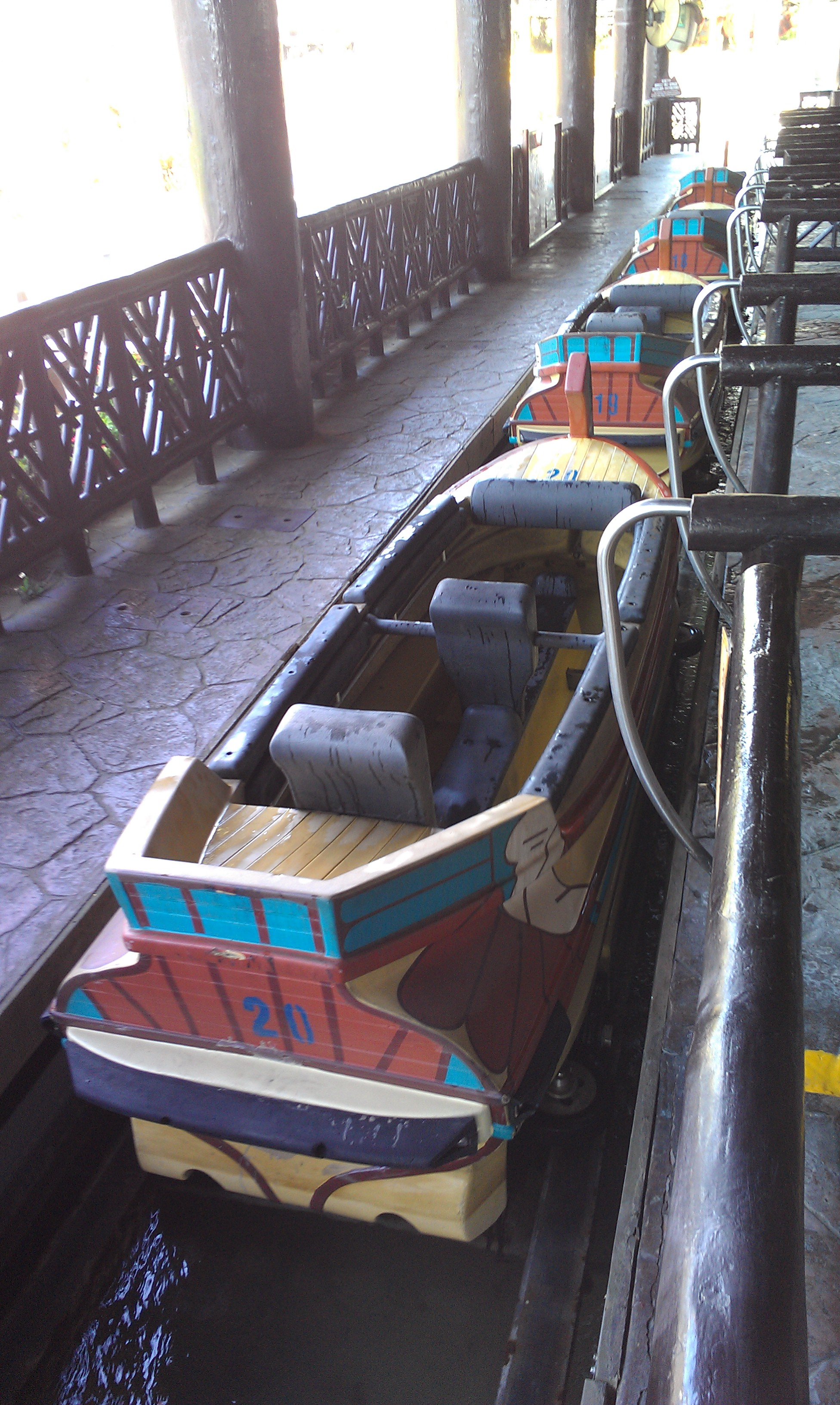 intamin rich history with logs  pirogues and cars  part 6