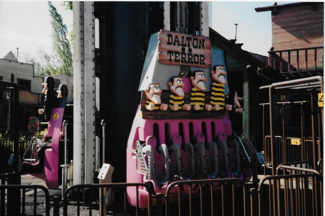 Dalton Terror Six Flags Belgium 2001