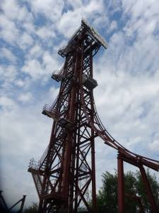 Movie Park Italy First Gen Freefall