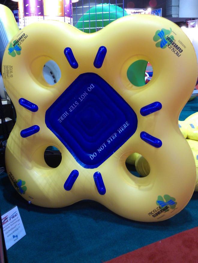 Cloverleaf Raft