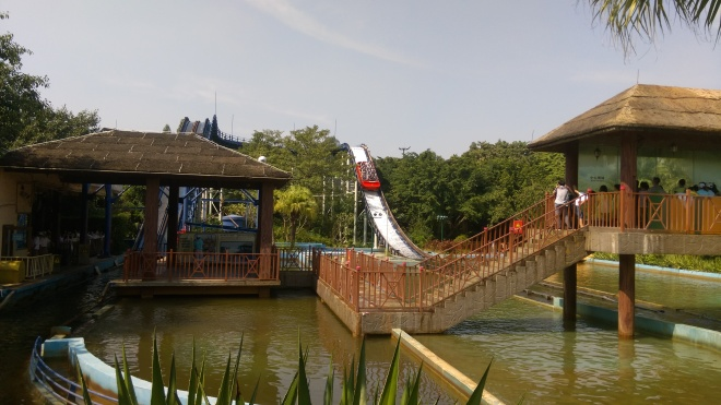 Golden Horse Flume Chimelong Paradise