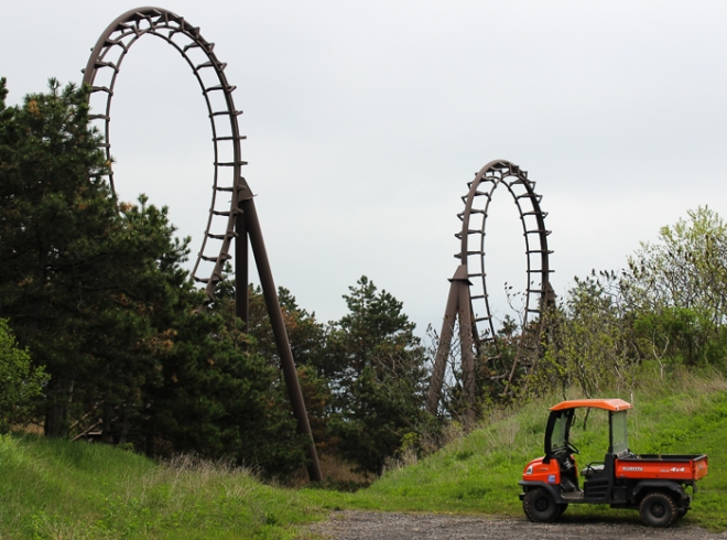 Negative-G Visits Marineland of Canada