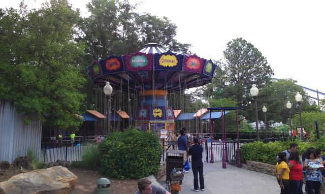 Batman The Ride Six Flags Over Georgia (13)