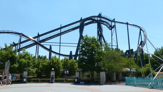 Batman The Ride Six Flags St Louis Flex 2