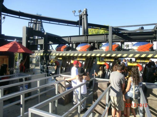 Flight Deck California Great America 8