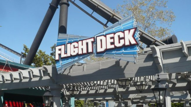 Flight Deck Great America Flex 3