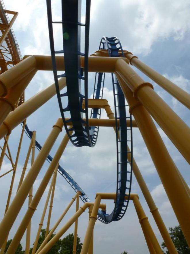 Goliath Six Flags Fiesta Texas Flex 2