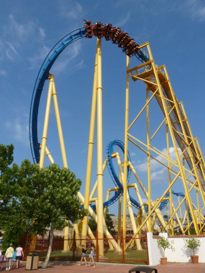 Goliath Six Flags Fiesta Texas Flex
