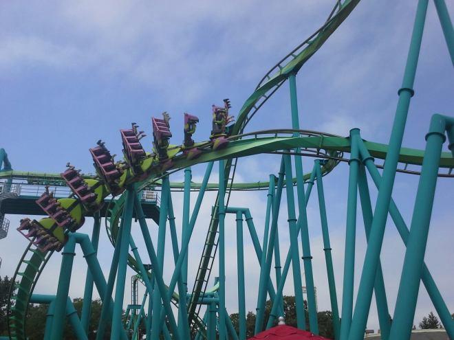 Raptor Flat Spin Cedar Point