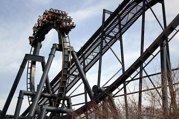 The Batman arrives in Missouri: Part 7 of our Inverted Coaster Series
