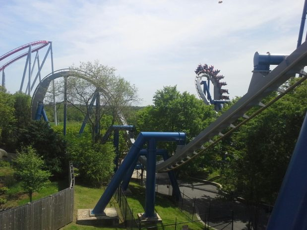 Top Gun: The Jet Coaster:  Part 12 of our Inverted Coaster series