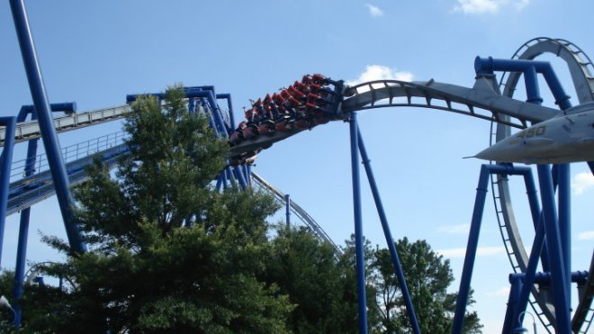 Afterburn Carowinds Flex 2