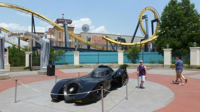 Batman The Ride Six Flags Over Texas Flex