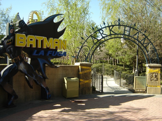 Batman La Fuga Parque Warner Madrid (2)