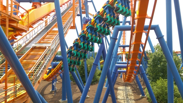 The Grip of Fear take over Allentown: Part 16 of our Inverted Coaster series