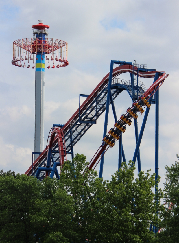 A Patriotic Coaster in Kansas City: Part 21 of our Inverted CoasterSeries