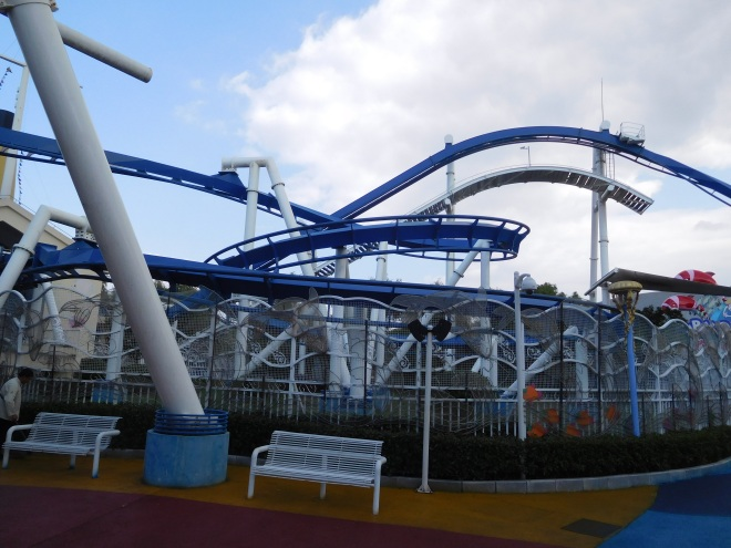 Family Inverted Coaster Happy Valley Shanghai (7)