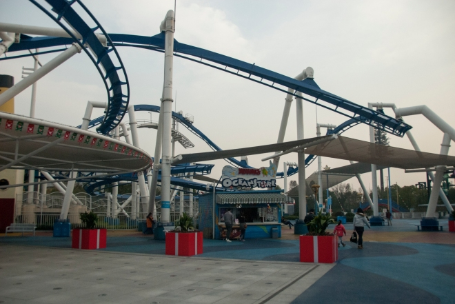 Family Inverted Coaster Shanghai Henry (5)
