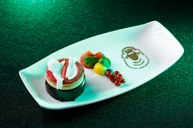 Ghostbusters Set Menu - Chocolate Mousse with Fresh Fruits.jpg