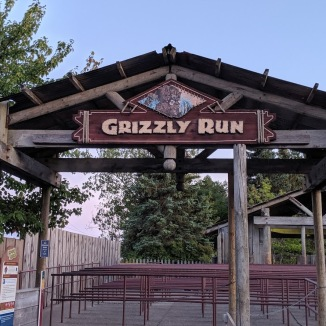 The entrance to Grizzly Run.