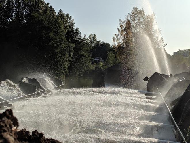 Radja River Walibi Belgium Water jets 2019