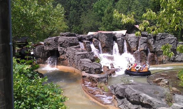 Rafting in the Ozarks and Smoky Mountains: Part 11 of our look at River Rapids attractions.