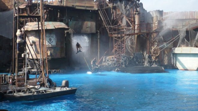 Water World Universal Studios Hollywood Flex 3