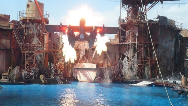 Water World Universal Studios Hollywood Flex 7