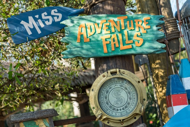 Miss Adventure Falls at Disney's Typhoon Lagoon