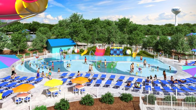 Michigan's Adventure Half Pint Paradise smaller rendering