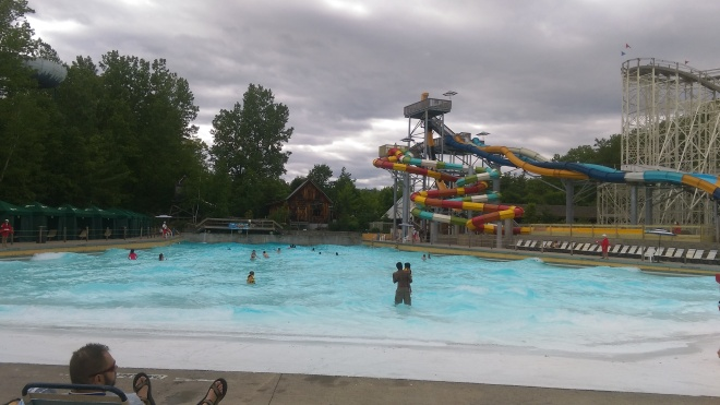 Great Escape Wave Pool