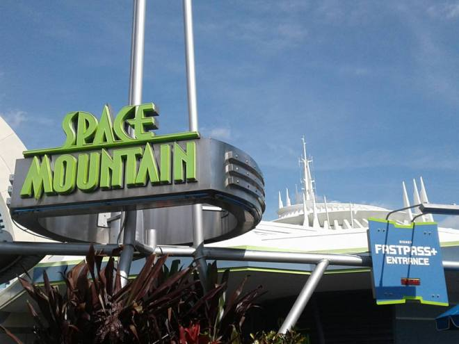 Space Mountain WDW entrance