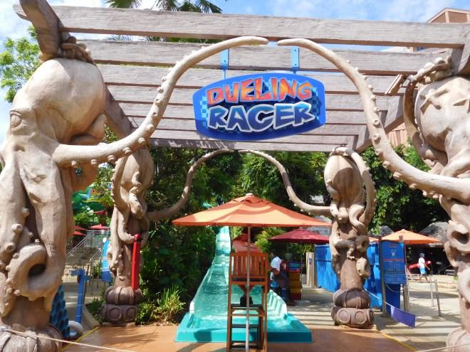 Dueling Racer entrance
