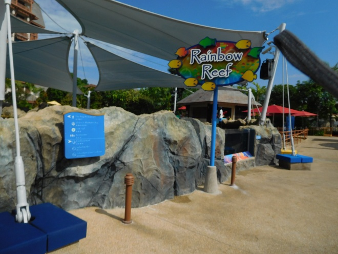 Rainbow Reef entrance